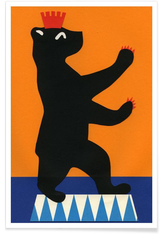 Berlin Bear -Poster