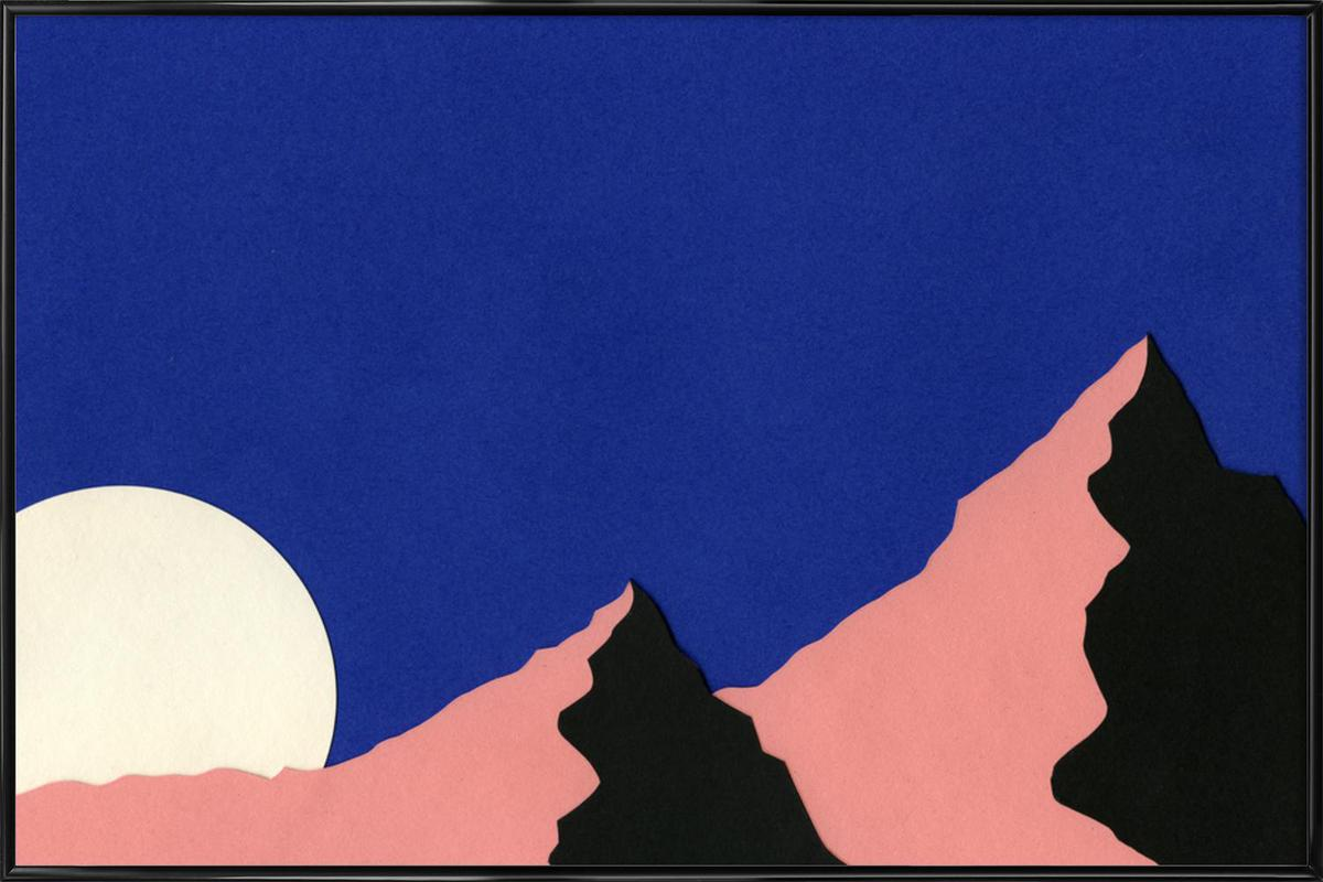 Death Valley Moon ingelijste poster