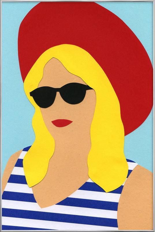 Portrait Of Marli -Poster im Alurahmen