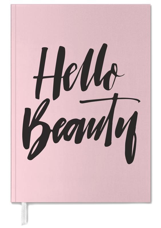 Zitate & Slogans, Hello Beauty -Terminplaner