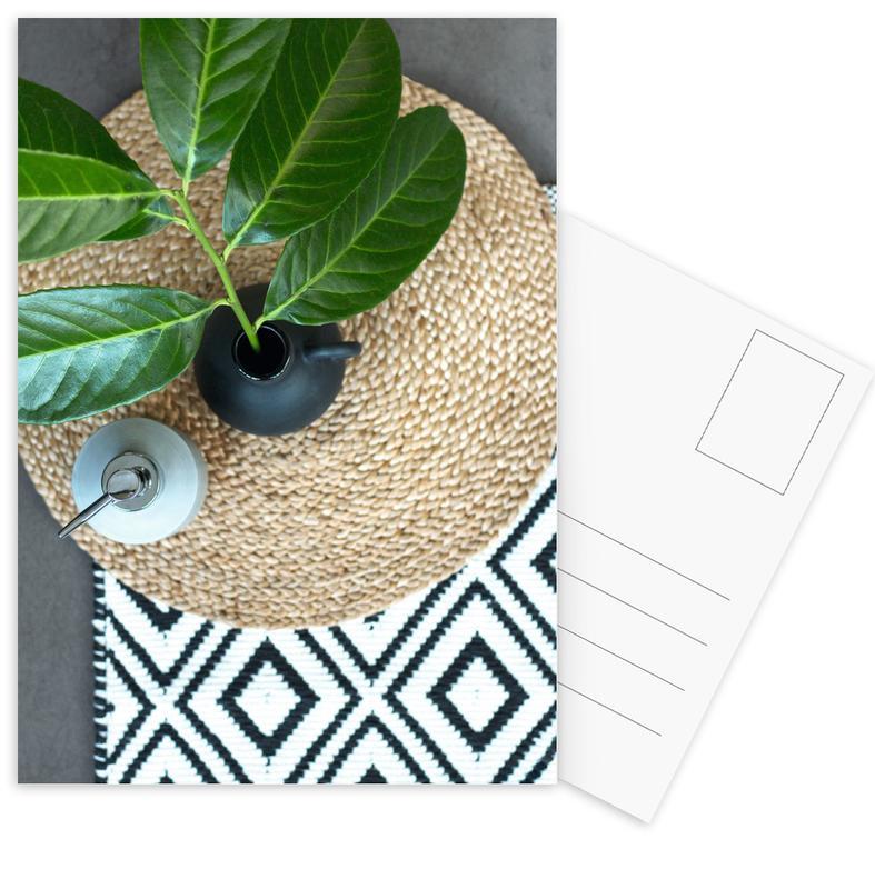 Blätter & Pflanzen, Home Sweet Home -Postkartenset