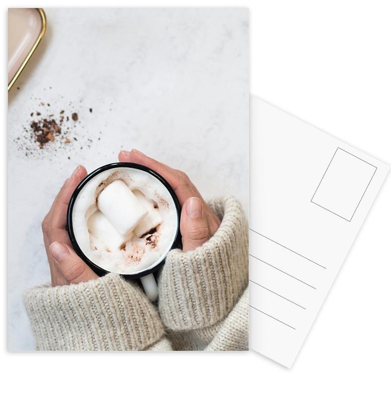 Kaffee, It's Cold Outside -Postkartenset