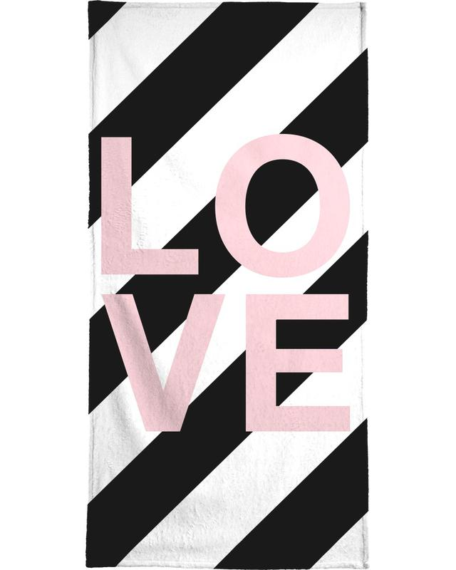 , LOVE -Strandtuch