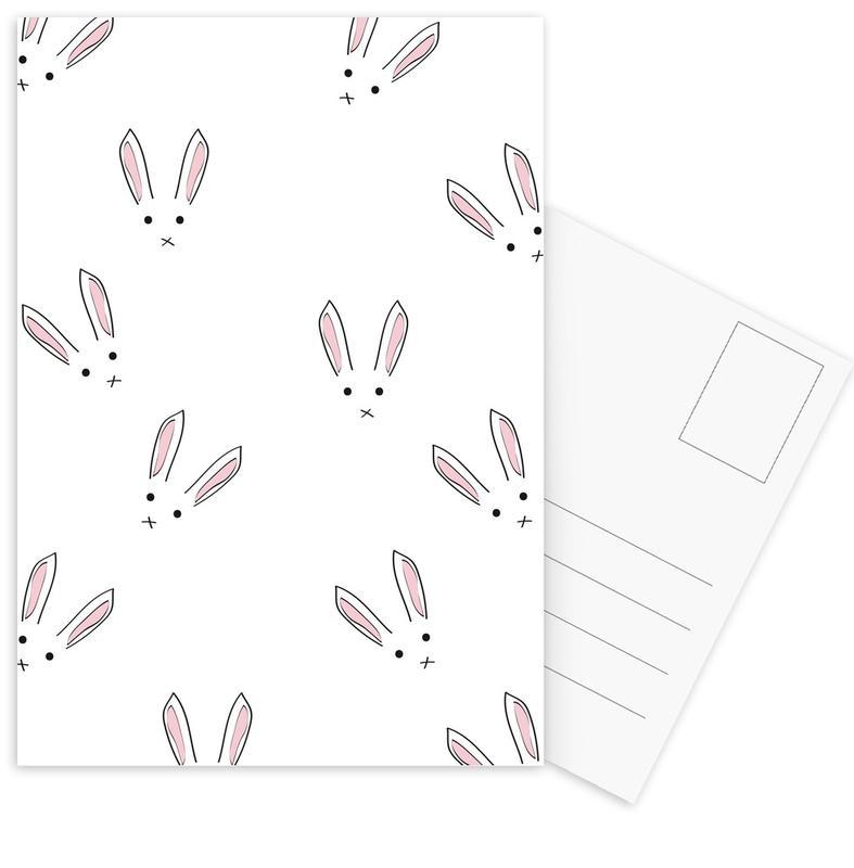 Ostern, Kaninchen, Some Bunny Loves You -Postkartenset