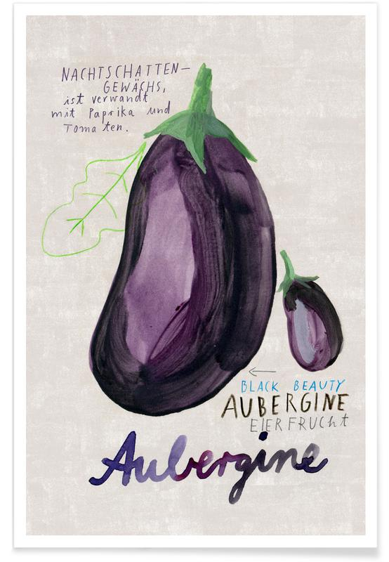 , Aubergine Poster