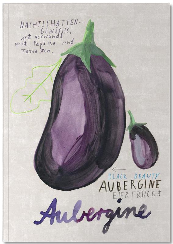 Aubergine Notebook