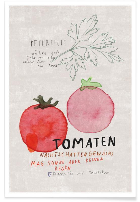 Tomates, Tomate affiche