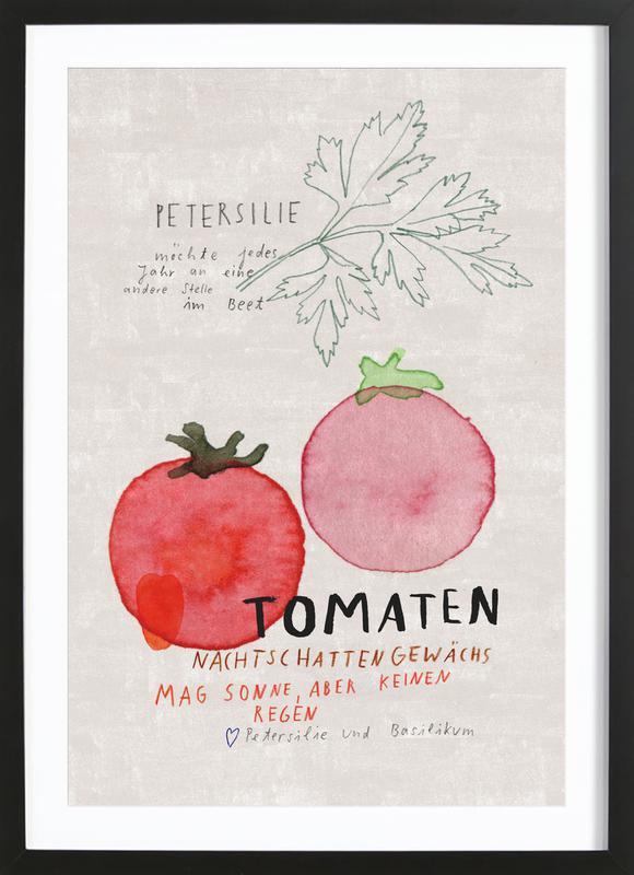 Tomate ingelijste print