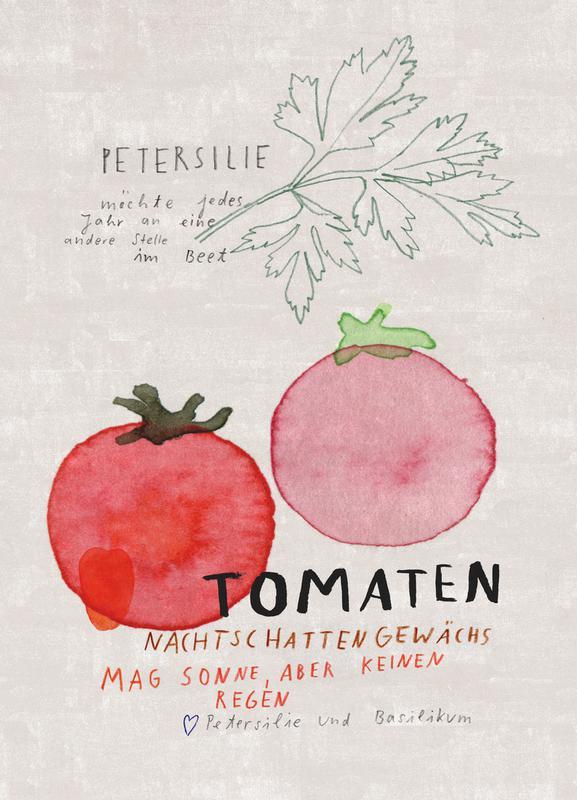 Tomate -Leinwandbild