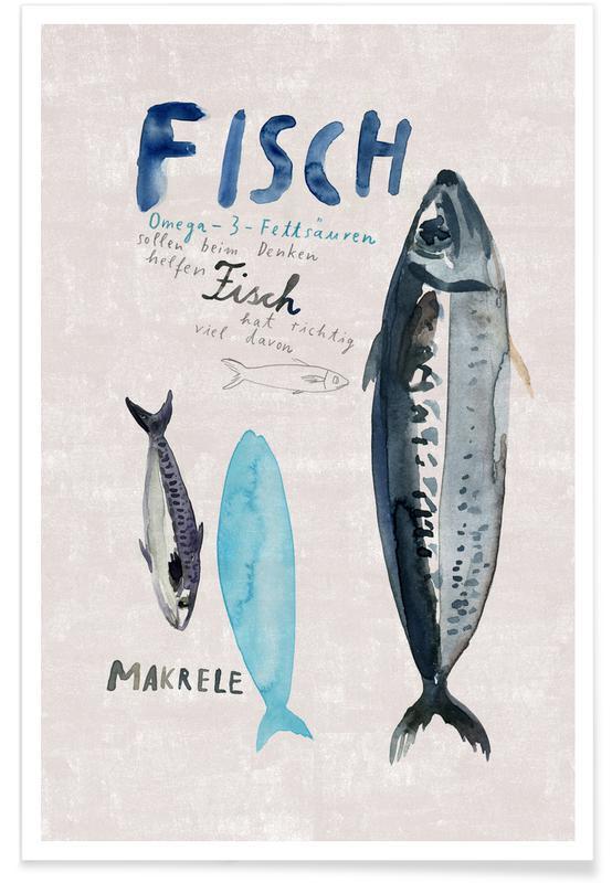 Fisk, Fisch Plakat