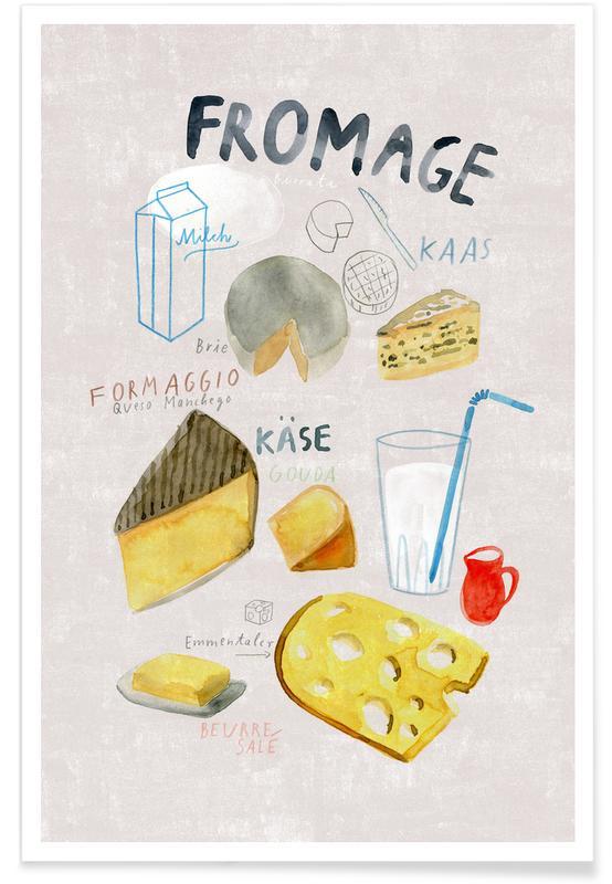 Käse -Poster