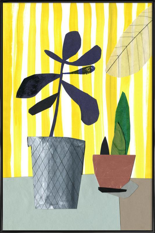 Fensterbank 1 -Bild mit Kunststoffrahmen