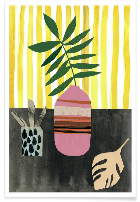 Feuilles & Plantes, Vasen & Co. 2 affiche