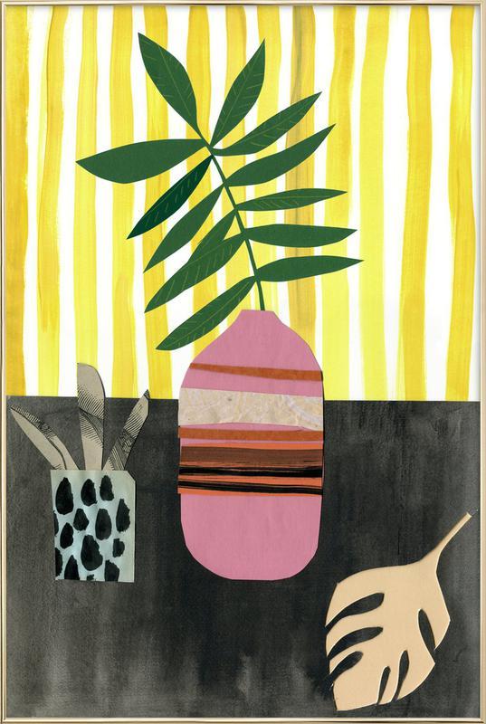 Vasen & Co. 2 poster in aluminium lijst