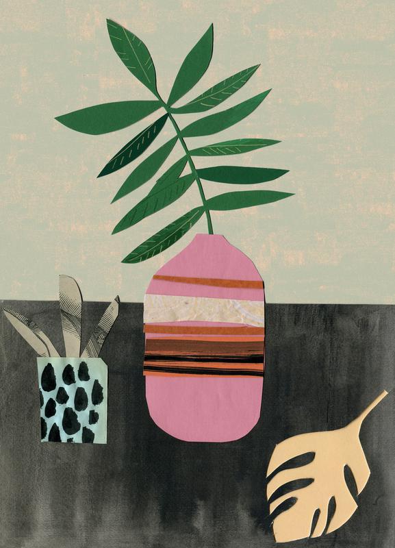 Vasen & Co. 3 canvas doek