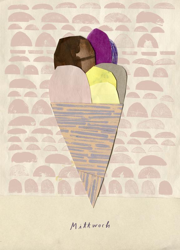 Eis am Mittwoch Canvas Print