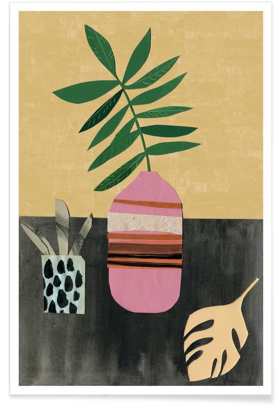 Blätter & Pflanzen, Vasen & Co. 4 -Poster
