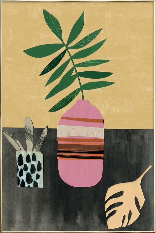 Vasen & Co. 4 -Poster im Alurahmen