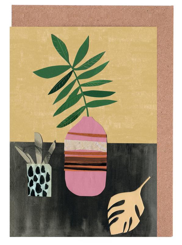 Vasen & Co. 4 -Grußkarten-Set
