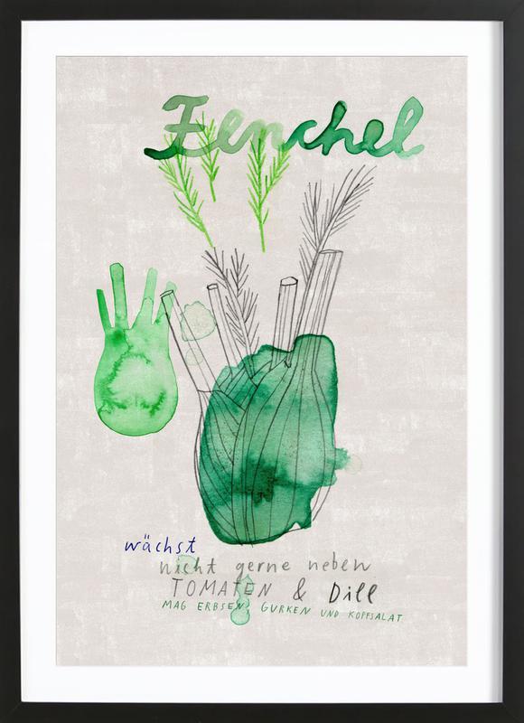Fenchel Framed Print