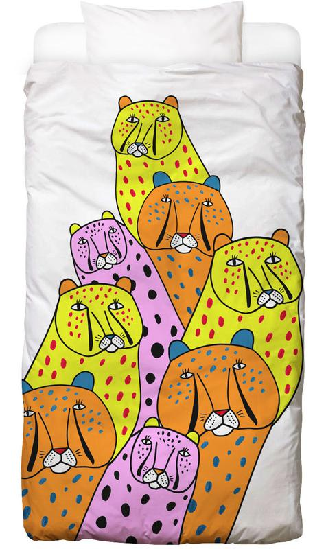 Cheetah Gang Kids' Bedding