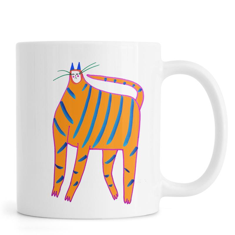 Tiger Cat Mug
