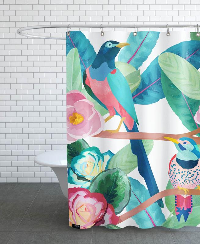 Birds -Duschvorhang