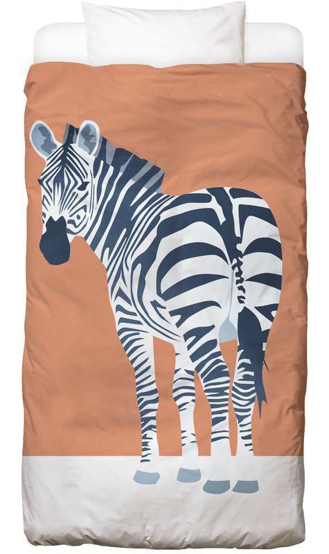 Zebras, Kinderzimmer & Kunst für Kinder, The Zebra Look -Kinderbettwäsche