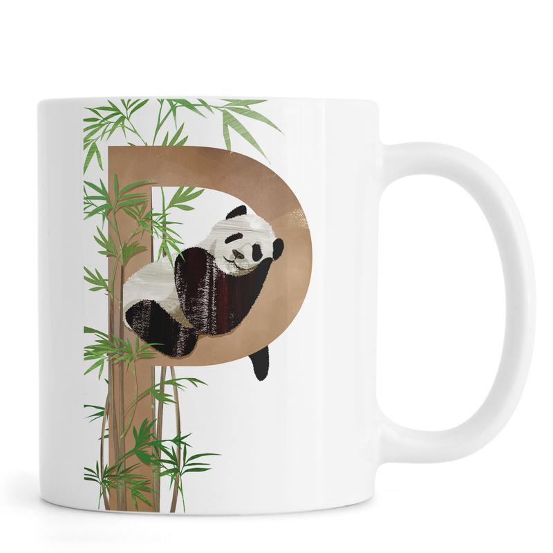 P Panda Mug