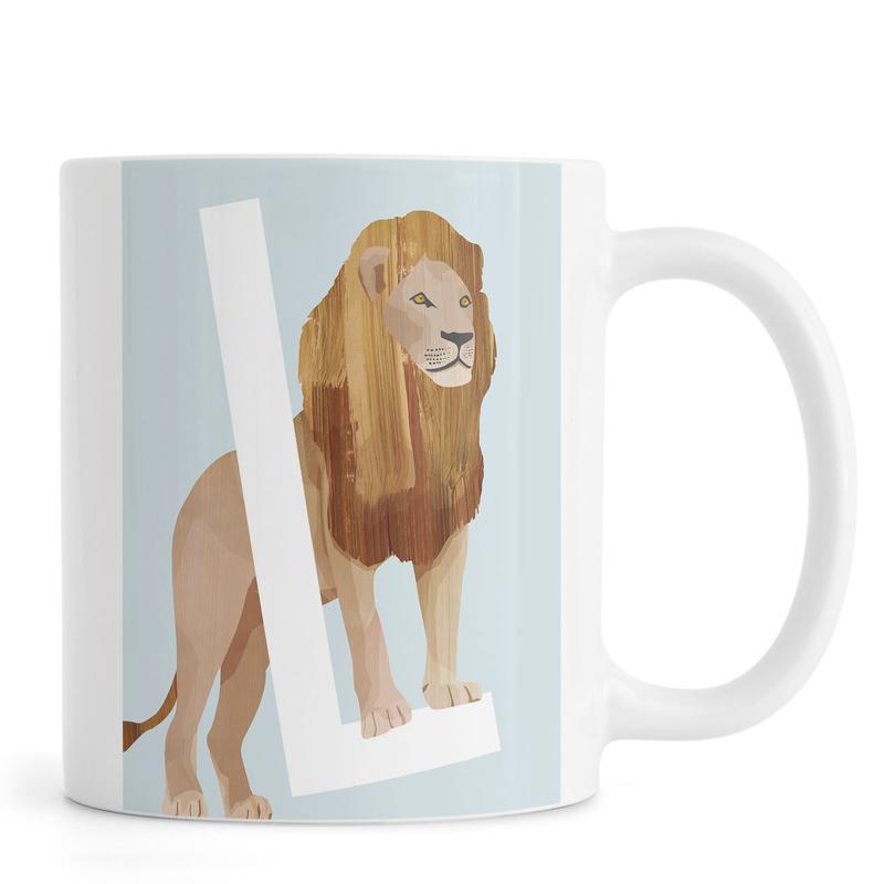 L Lion -Tasse