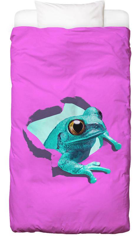 It's a frog housse de couette enfant