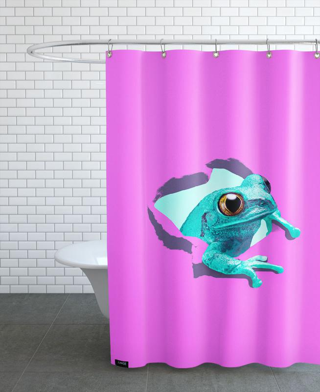 It's a frog Shower Curtain