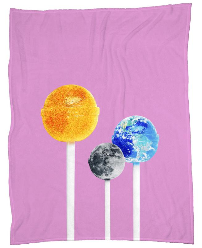 Lollipops Fleece Blanket