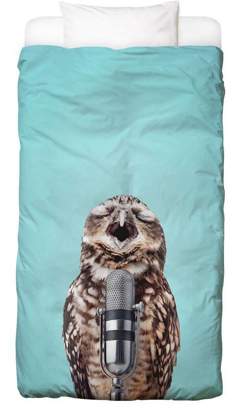 Owl Mic Kids' Bedding