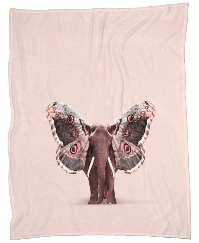 Papillophant Fleece Blanket