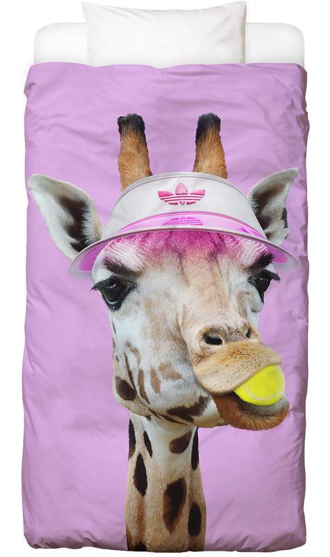 Tennis Giraffe Bettwäsche