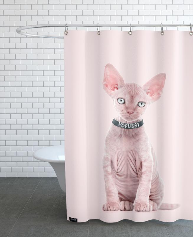 All Cats Are Beautiful Shower Curtain