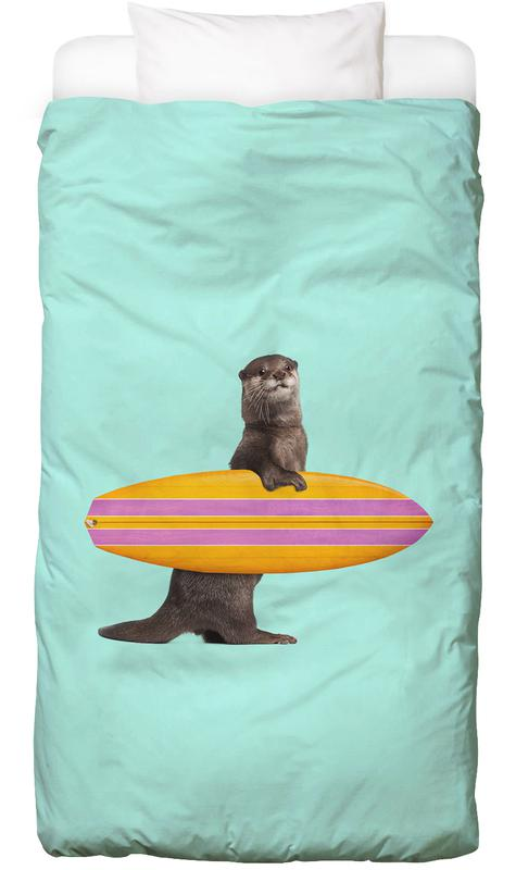 Surfing Otter Bed Linen