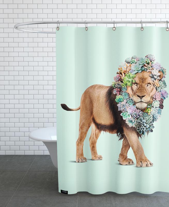Succulent Lion -Duschvorhang