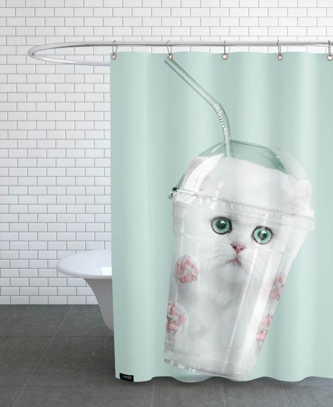 Chats, Humour, Catshake rideau de douche