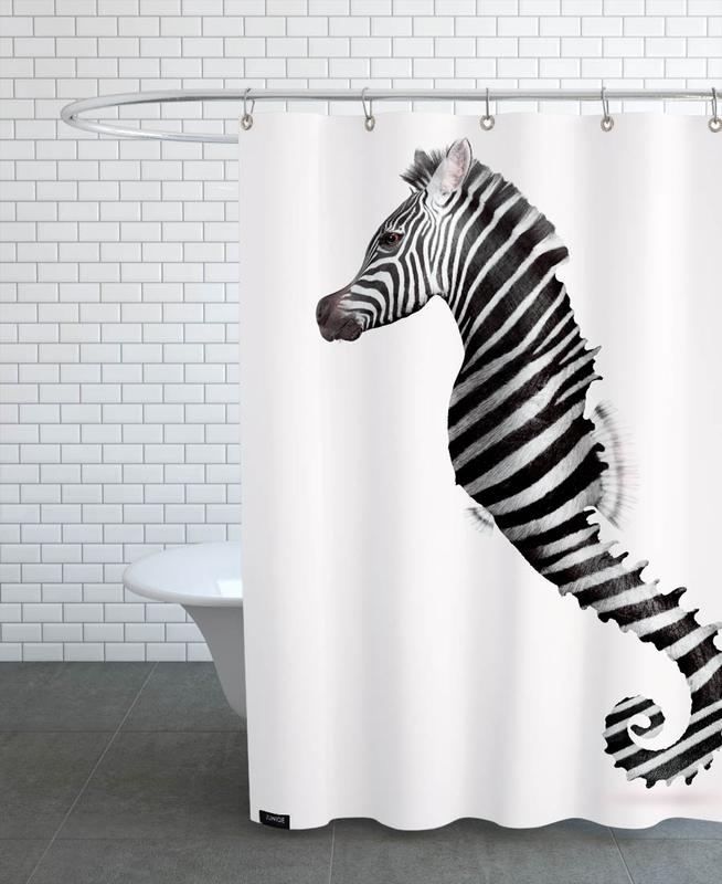Zeahorse Shower Curtain