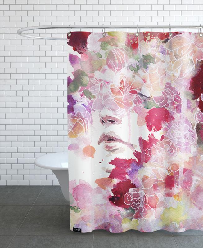 Dreamy, Garden IV Shower Curtain