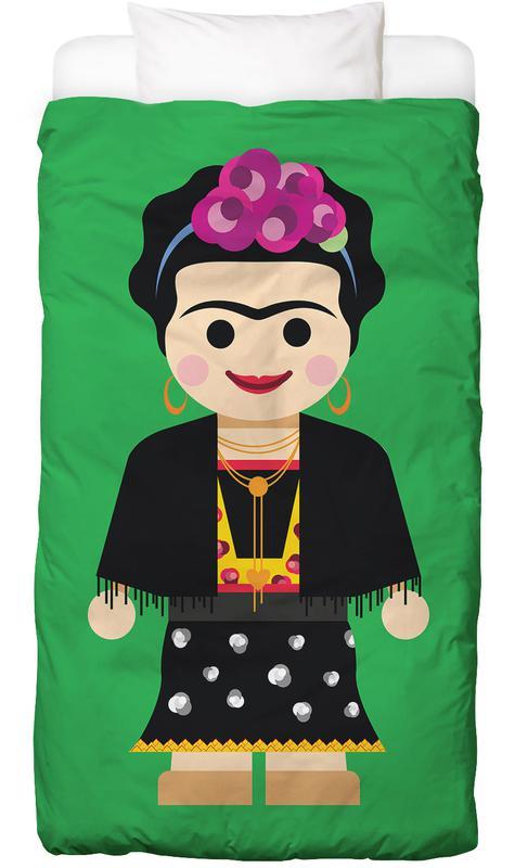 Kinderzimmer & Kunst für Kinder, Frida Kahlo, Frida Toy -Kinderbettwäsche
