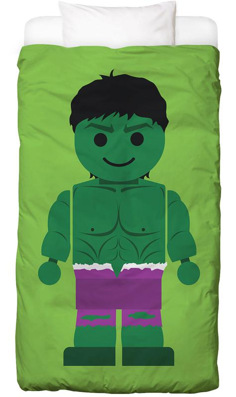 Kinderzimmer & Kunst für Kinder, Hulk Toy -Kinderbettwäsche