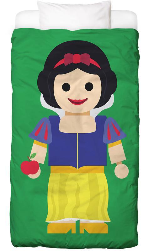 Kinderzimmer & Kunst für Kinder, Snow White Toy -Kinderbettwäsche