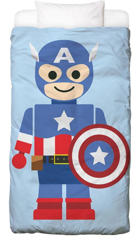 Captain America, Kunst voor kinderen, Captain America Toy Dekbedovertrekset