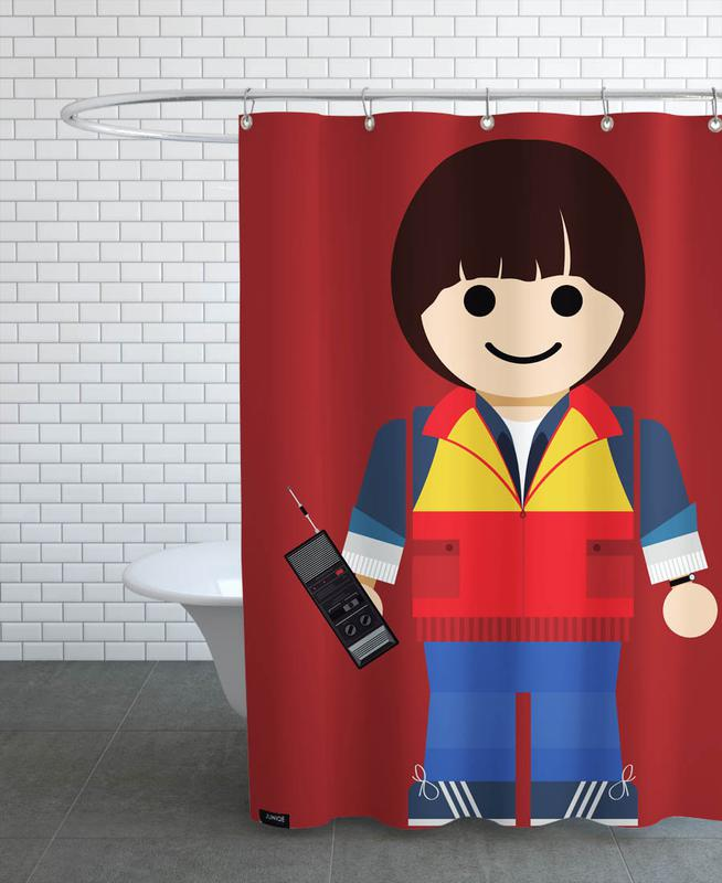 Will Toy Shower Curtain