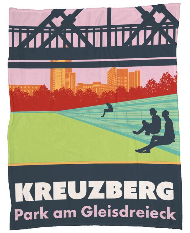 Berlin Kreuzberg plaid