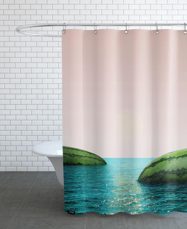Pastèques, Melon Shore rideau de douche