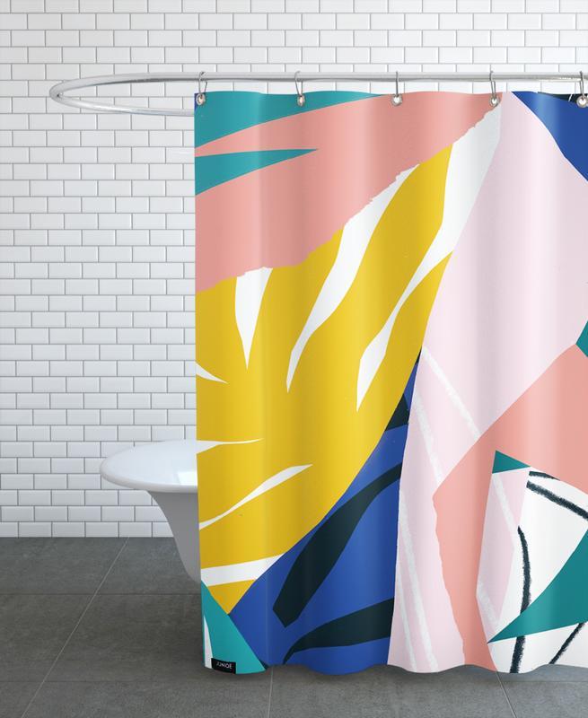 Botanical House Shower Curtain